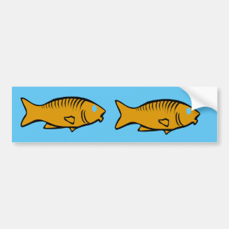 Autocollant De Voiture poissons nageant