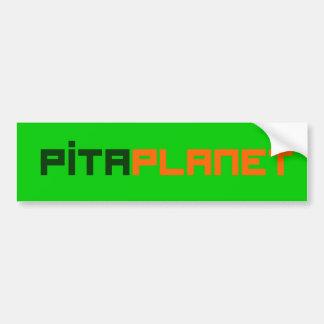 Autocollant De Voiture Police de planète de Pita (ALLEZ)