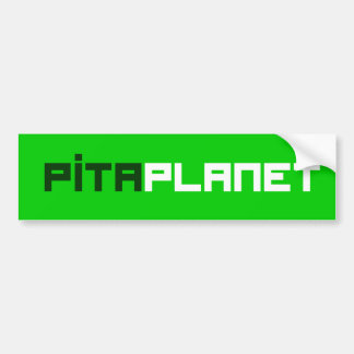 Autocollant De Voiture Police de planète de Pita (gw)