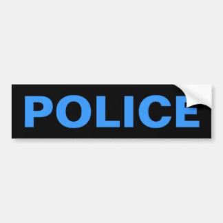 Autocollant De Voiture POLICE - emblème bleu de logo