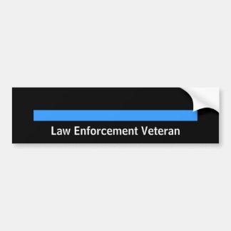 Autocollant De Voiture Police retirée de shérif de police Blue Line