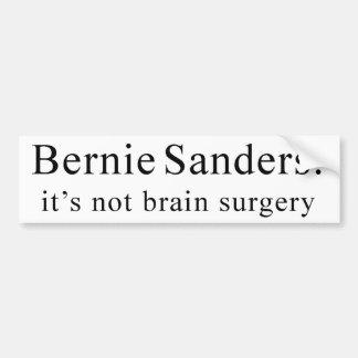 Autocollant De Voiture Ponceuses de Bernie : ce n'est pas chirurgie