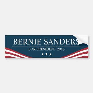 Autocollant De Voiture Ponceuses de Bernie pour le président 2016 moderne