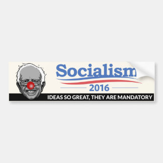 Autocollant De Voiture Ponceuses de Bernie - socialisme