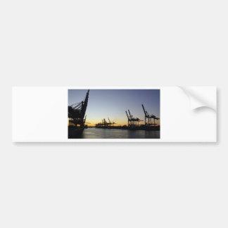 Autocollant De Voiture port de Hambourg