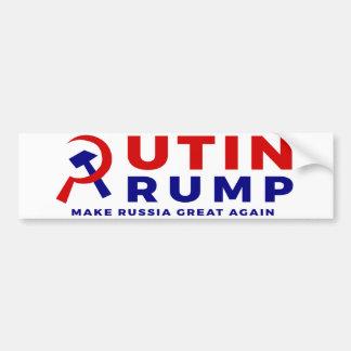 Autocollant De Voiture Poutine/adhésif pour pare-chocs d'atout