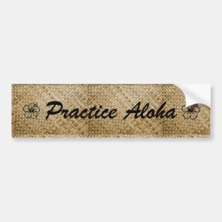 Autocollant De Voiture Pratique Aloha