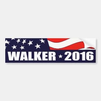 Autocollant De Voiture Président 2016 de marcheur de Scott