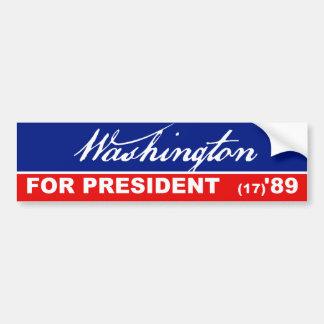 Autocollant De Voiture Président de George Washington adhésif pour