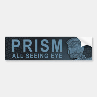 Autocollant De Voiture PRISME - tout l'oeil voyant - ardoise