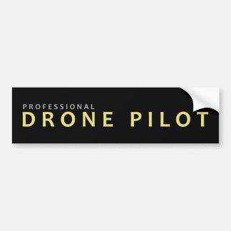 Autocollant De Voiture Pro pilote de bourdon