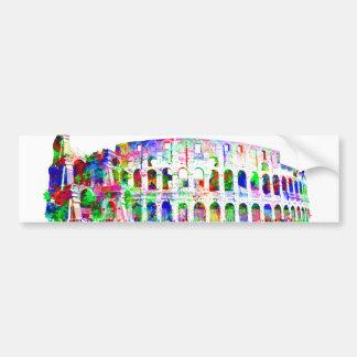 Autocollant De Voiture Produits architecturaux colorés romains de
