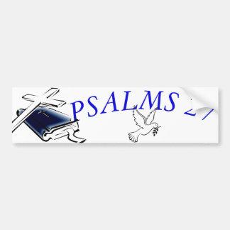 AUTOCOLLANT DE VOITURE PSAUMES 27