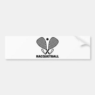 Autocollant De Voiture Racquetball