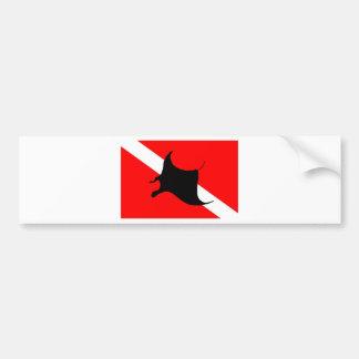 Autocollant De Voiture Rayon de Manta de drapeau de piqué
