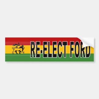Autocollant De Voiture Réélection de Rasta Rob Ford