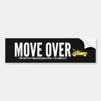 Autocollant De Voiture Remorquage du mouvement au-dessus de l'adhésif