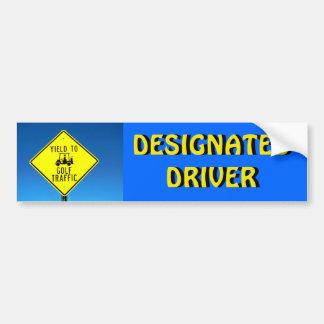 Autocollant De Voiture Rendement de conducteur indiqué au trafic -