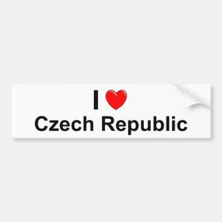 Autocollant De Voiture République Tchèque