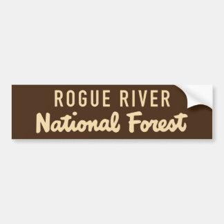 Autocollant De Voiture Réserve forestière escroc de rivière