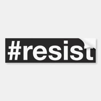 Autocollant De Voiture #resist