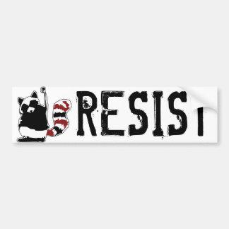 """Autocollant De Voiture Résistez à Donald Trump que pare-chocs """"résistez à"""