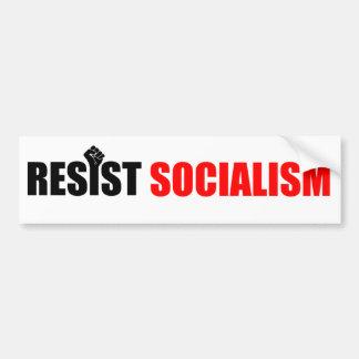 Autocollant De Voiture Résistez à l'adhésif pour pare-chocs de socialisme