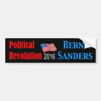 Autocollant De Voiture Rev.Bernie politique noir