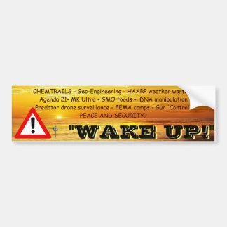 Autocollant De Voiture Réveillez-vous