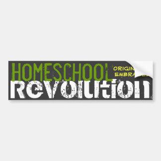 Autocollant De Voiture Révolution de Homeschool - originalité embrassée