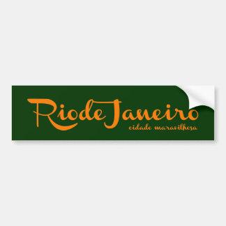 Autocollant De Voiture Rio Rio la ville de merveille