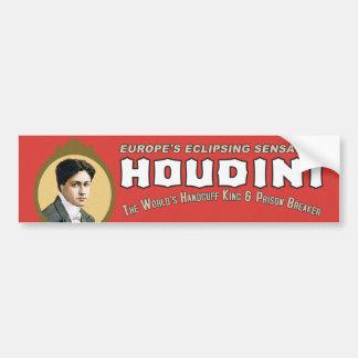 Autocollant De Voiture Roi de menotte de Houdini