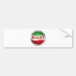 Autocollant De Voiture rugby basque festive sport