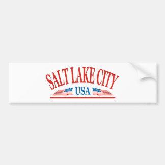 Autocollant De Voiture Salt Lake City Utah