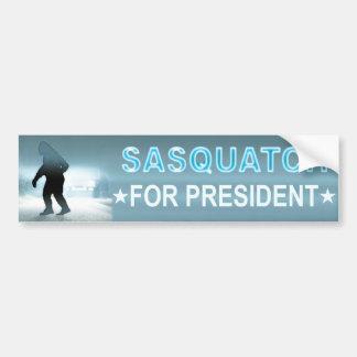 Autocollant De Voiture Sasquatch pour le président