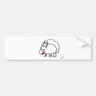 Autocollant De Voiture saute moutons
