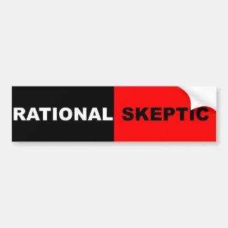 Autocollant De Voiture Sceptique rationnel
