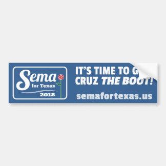 Autocollant De Voiture Sema pour l'adhésif pour pare-chocs 2018 du Texas