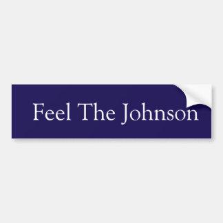 Autocollant De Voiture Sentez Johnson