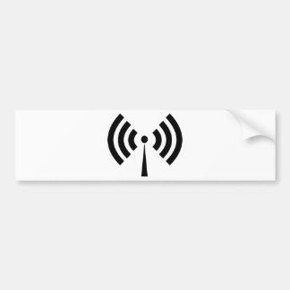 Autocollant De Voiture Signal de Wifi