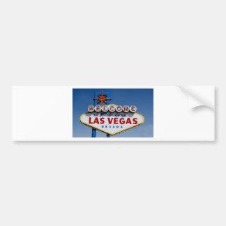 Autocollant De Voiture Signe de Las Vegas