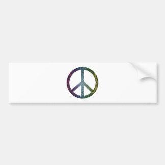 Autocollant De Voiture signe de paix