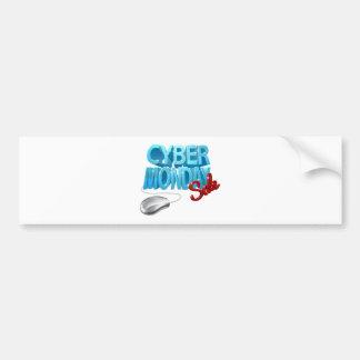 Autocollant De Voiture Signe de souris d'ordinateur de vente de lundi de