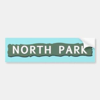 Autocollant De Voiture Signe du nord de parc