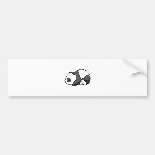 Autocollant De Voiture Sleepy Panda