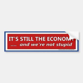 Autocollant De Voiture Son toujours la satire politique d'économie