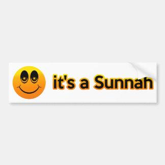 Autocollant De Voiture Sourire c'est un Sunnah