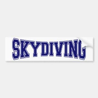 Autocollant De Voiture Style d'université de parachutisme