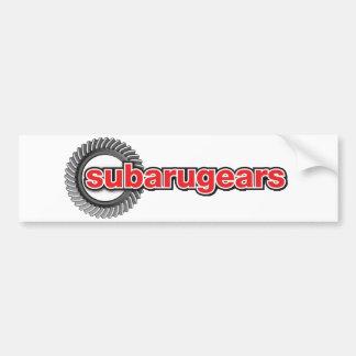 Autocollant De Voiture Subarugears