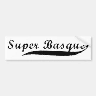 Autocollant De Voiture super Basque.png